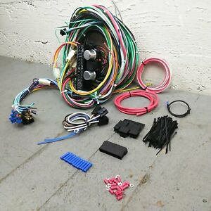 1967 - 1970 Ford Mustang Wire Harness Upgrade Kit fits painless fuse compact new