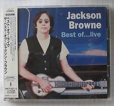 JACKSON BROWNE - Best Of JAPAN 2CD OBI RAR! AMCY-2521/2