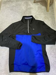 "MENS ""CALVIN KLEIN"" 1/4 ZIP JUMPER SIZE MEDIUM"