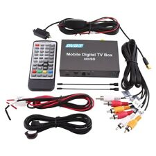 New DVB-T HD/SD Car Digital TV Box Analog Tuner 240km/h Strong Signal Receiver