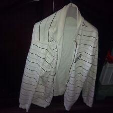 White striped zipper & 2  shirts