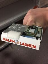 """Pack of 3 Ralph Lauren 4"""" Unique Finish Trim Roller Suede and River Rock 720000"""