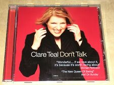 Clare Teal – Don't Talk CD incl. I Just Want To Make Love To You