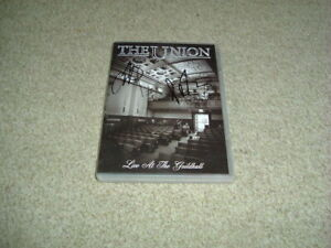 THE UNION - LIVE AT THE GUILDHALL - HAND SIGNED DVD - BRAND NEW - THUNDER