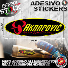 Adesivo / Sticker AKRAPOVIC HONDA SUZUKI KAWASAKI KTM APRILIA 200°gradi