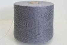 E53 1600g SCHOELLER SCHURWOLLE GRAUBLAU (22/2) Wolle Zwirn Strick