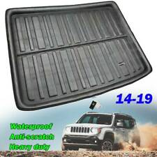 Cargo Liner Rear Trunk Tray Boot Floor Mat Protector For Jeep Renegade 2014-2019