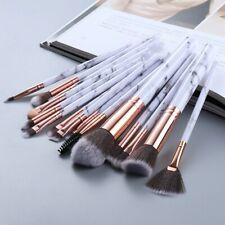 15Pcs Women Makeup Brushes Tool Set Cosmetic Powder Eye Shadow Foundation  Brush