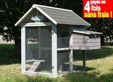 POULAILLER POULE HOUSE EN BOIS 2 POULES TRADI-100% SAPIN FINLANDE ! Réf.AS2690