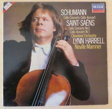 DECCA SXDL 7568 / SCHUMANN SAINT SAENS Cello Concerto No.1 LYNN HARRELL / NM