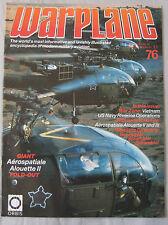 Warplane Issue 76 Aerospatiale Alouette II & III cutaway drawing & poster
