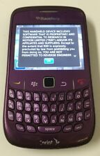 BlackBerry Curve 8530 - Purple (Sprint) Smartphone - No Back No Battery