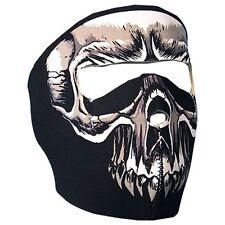 Punisher Skull Neoprene Full Face Mask Biker Costume Paintball ATV Free Shipping