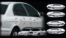 Chrome Door Handle Cover Molding Trim for 02-05 Hyundai Sonata w/Tracking No.