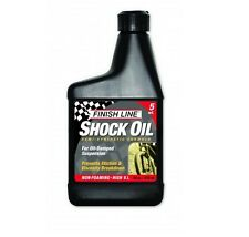 Olio per forcelle FINISH LINE 5 watt 475ml/SHOCK OIL 5WATT FINISH LINE