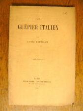 VEUILLOT Le guêpier italien 1865 Victor Palmé