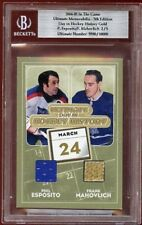04 IN THE GAME PHIL ESPOSITO FRANK MAHOVLICH JRY/STK /5