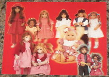 Annette Himstedt Club Postcard Invitation 1998 Dolls