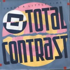 "TOTAL CONTRAST takes a little time 7"" PS EX/VG uk LON71"