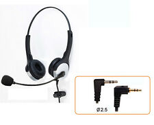 H20D headset with  2.5mm plug for Cisco 7920 7921 7921G 7929 IP & AT&T 992 993