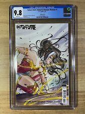 Future State Immortal Wonder Woman #1 (2021 DC) Peach Momoko Variant CGC 9.8