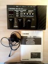Multieffektgerät für E-Gitarre BOSS ME25 (gebraucht) + Anleitung + 9V Netzteil