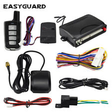 EASYGUARD car alarm with GPS tracking smartphone app lock unlock & trunk release