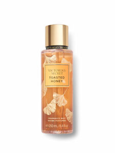 Victoria's Secret New! TOASTED HONEY Golden Light Fragrance Mist 250ml