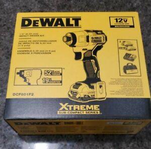 DEWALT Xtreme 12V MAX Cordless Impact Driver - DCF801F2