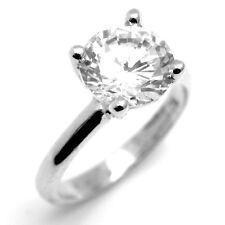 Diamond-Unique 3carat Solitaire 9ct Gold Ring