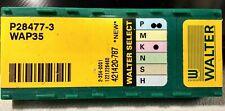 10x Walter Carbide Milling Inserts P28477-3  WAP35