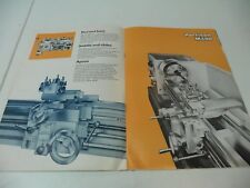 Harrison M400 Centre Lathe Brochure