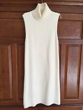 NWT WHBM Turtleneck Tabard Sweater in Crema Size S