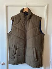 BNWT Barbour Mens Ruck Olive Green Quilted Gilet Size Small