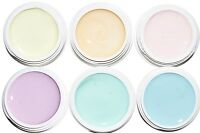 6er pastell Set mit je 5ml LED und UV härtend High Qualitiy