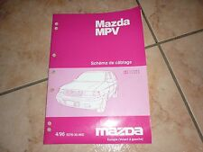 MAZDA MPV SCHEMA DE CABLAGE manuel d'atelier 04 - 1996 en français