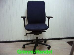 König + Neurath blau Schreibtischstuhl Bürodrehstuhl Drehstuhl Arbeitsstuhl