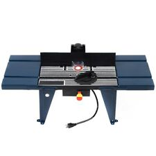 Heavy Duty Electric Aluminum Router Table Woodworking Craftsman Benchtop Tool US