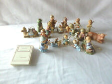 Goebel Berta Hummel Nativity Collection Onaments - Lot of 18 Pcs- Most With Coas