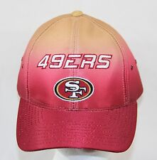 San Francisco 49ers Vintage Logo CAP HAT Adjustable Embroidered Red Gold Rare