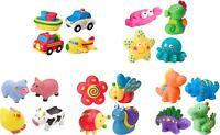 Alex RUB A DUB BATH SQUIRTERS Dino/Farm/Sport/Vehicles Baby/Child Tub Toy -BN