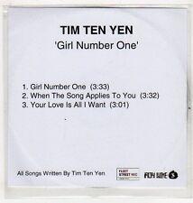 (EV679) Tim Ten Yen, Girl Number One - DJ CD
