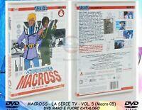 1 DVD MANGA/ANIME ROBOT TV ANNI 80-MACROSS 5 robotech,valkyrie,patlabor,gundam,x
