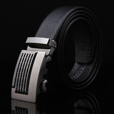 Luxury Silver Mens Automatic Metal Belt Buckle Without Belt Strap Wristband 1pcs