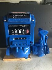 "1"" Neptune Type S Flow meter Seal coat water Oil Gas Fuel Bronze Bio Diesel Lube"