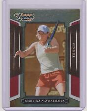 RARE 2008 DONRUSS LEGENDS MARTINA NAVRATILOVA TENNIS CARD #133 RED PARALLEL /250