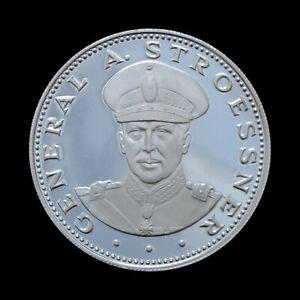 150 Guaranies 1972 General Alfredo Stroessner, Paraguay Proof