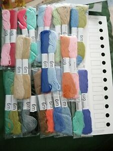 Cross Stitch Thread Organiser & Threads NEW