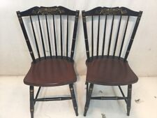 Hitchcock chair co Black/riverton side Chairs used hitchcock dot com