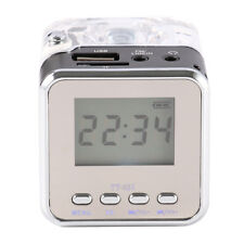 Multimedia Mini Portable Speaker MP3 HiFi USB FM Radio LED Display for PC Phone